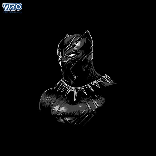 HD Black Panther Suit T-Shirt