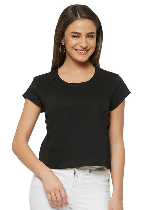 Crop Top - Black