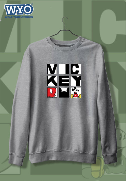 Block Mickey - Sweatshirt