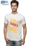 Burn Some Rubber T-Shirt - Wear Your Opinion - WYO.in  - 4