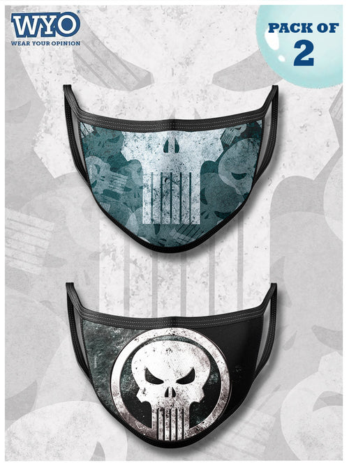 Reusable Punisher Mask MD2
