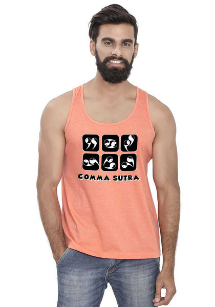 Comma Sutra Sleeveless T-shirt
