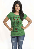 Simran Women TShirt - Wear Your Opinion - WYO.in  - 4
