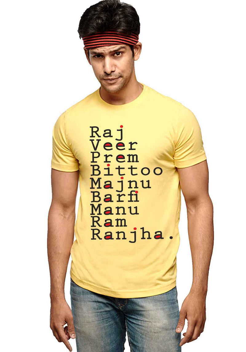 Raj T-Shirts - Wear Your Opinion - WYO.in  - 2