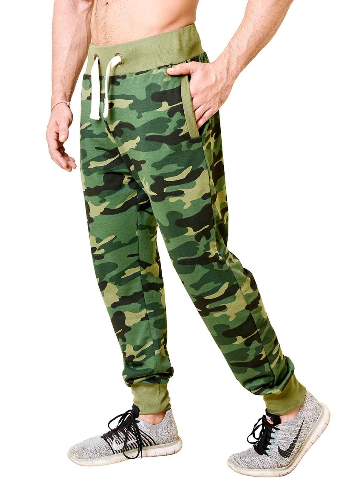 37665ec61ae5 Shop Mens Army Camouflage Track Pants - Joggers Collection - Wear ...