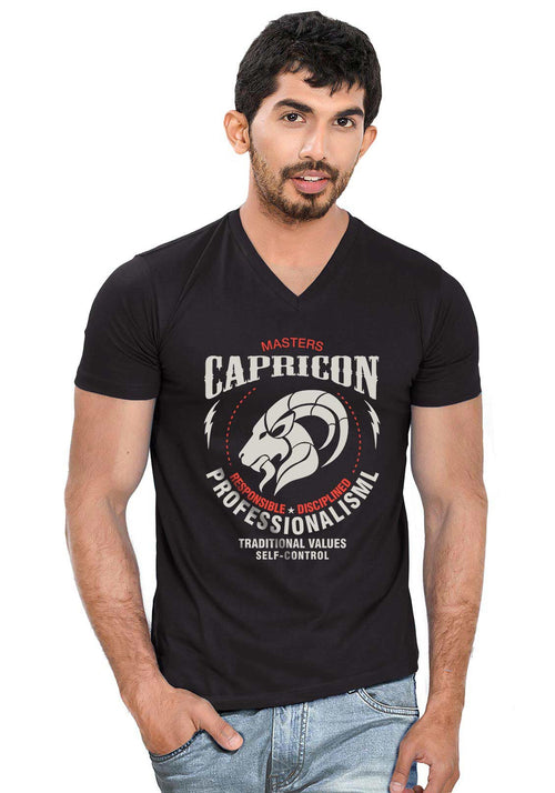 Capricorn V Neck T-Shirt
