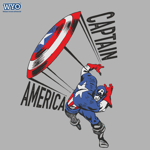 Sheild Throw Captain America Kids T-Shirt