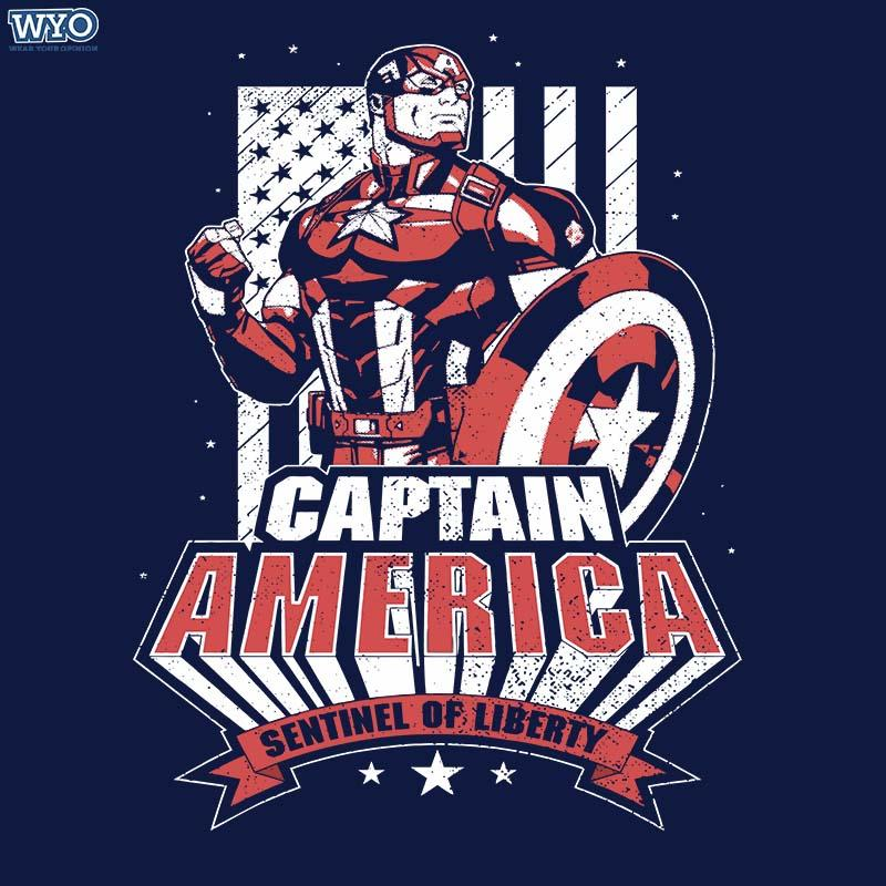 Captain America Kids T-Shirt