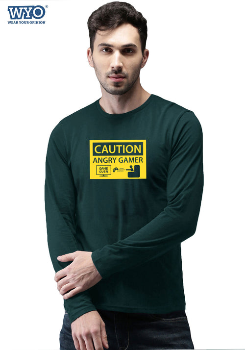 Caution Angry Gamer - Full Sleeves