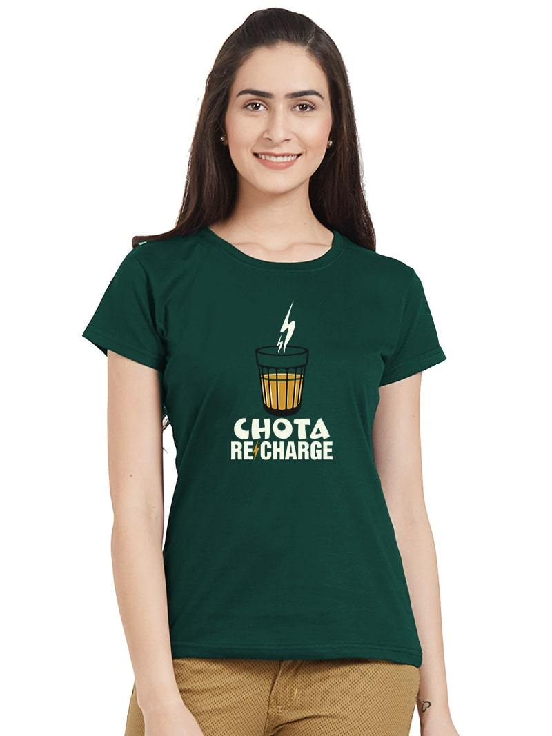 Chota Recharge Women T-Shirt