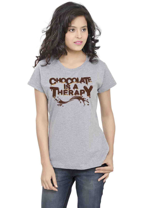 Chocolate Therapy Women TShirt