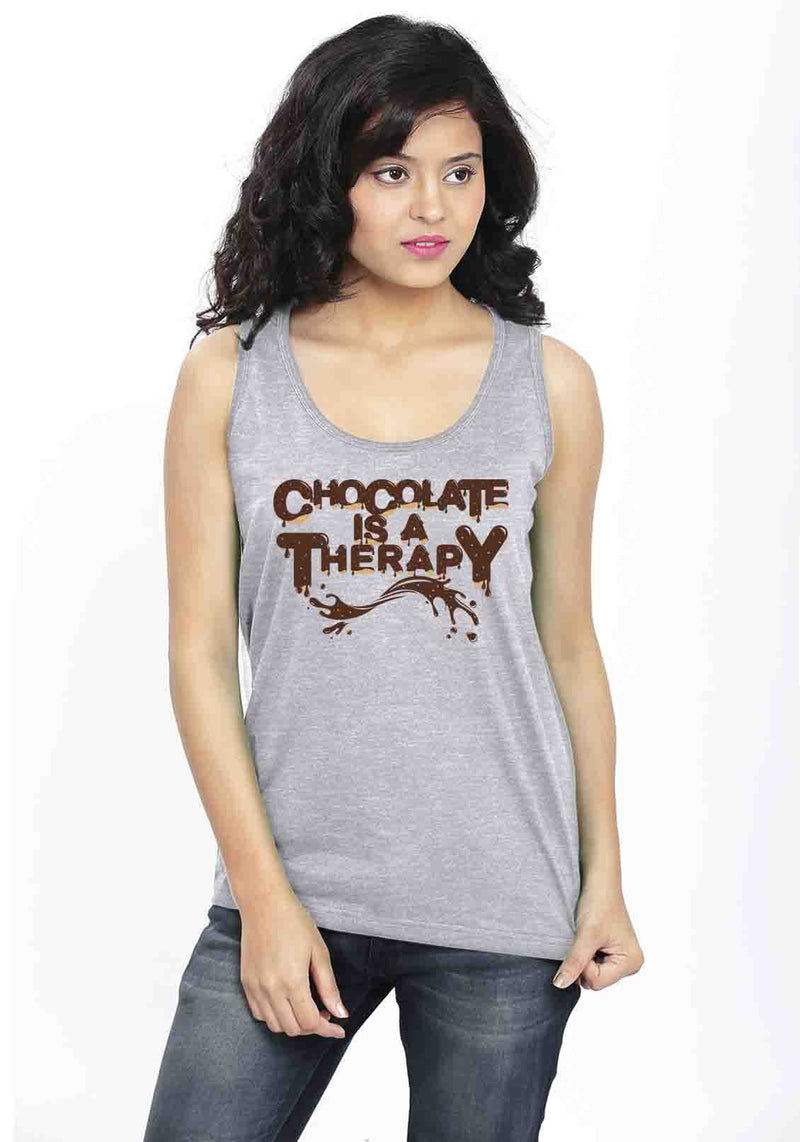 Chocolate Therapy Sleeveless T-Shirt