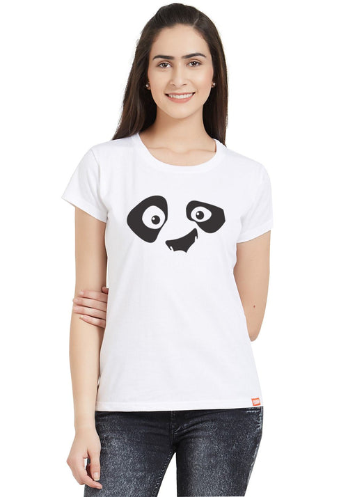 Cute Panda Women T-Shirt