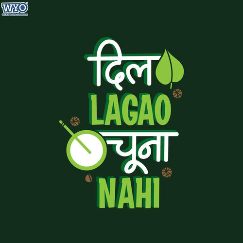Dil Lagao Women T-Shirt