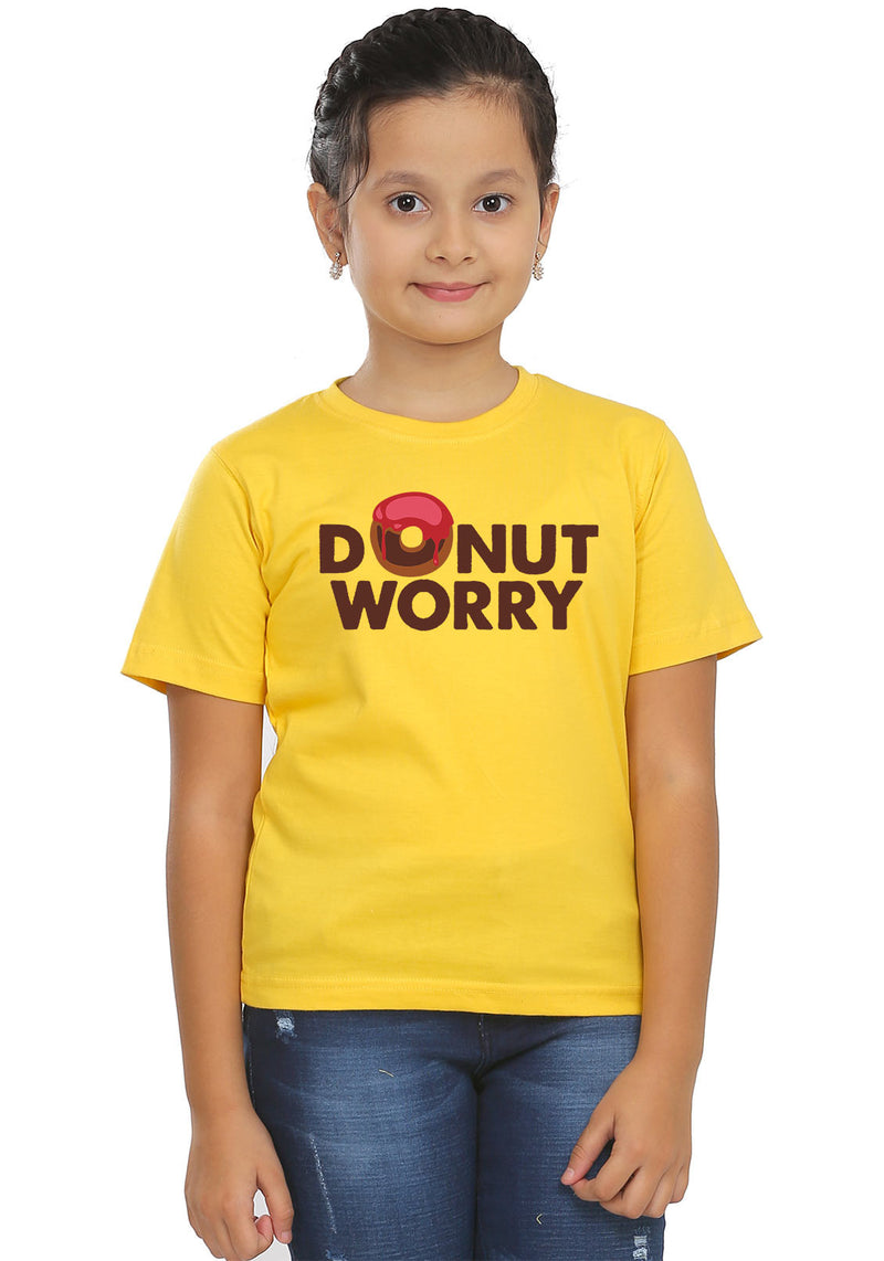Donut Worry Kids T-Shirt