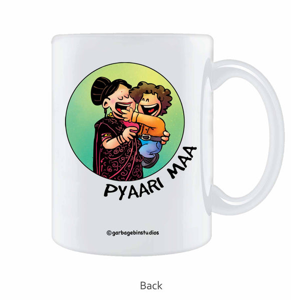 Daramebaz Maa Coffee Mug - Wear Your Opinion - WYO.in  - 1
