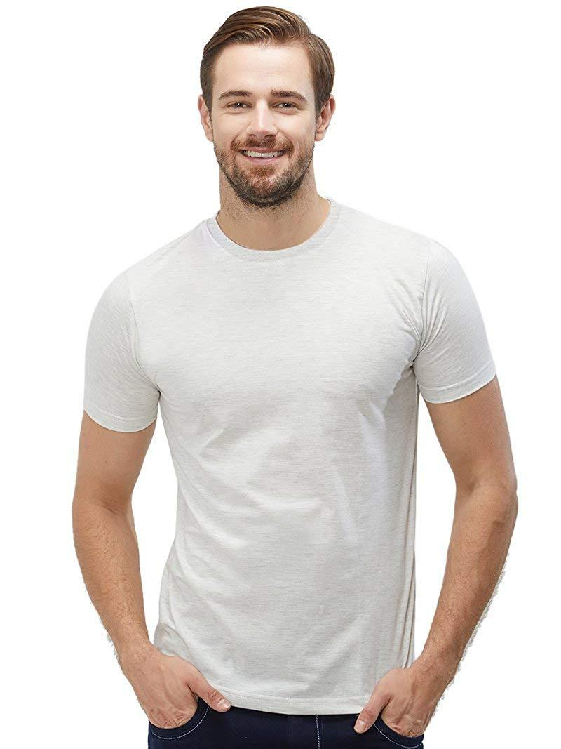 Plain Men's Tshirt - Ecru