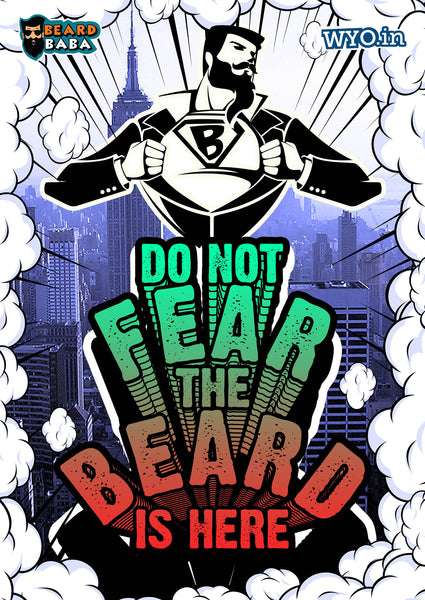 Fear The Beard Poster