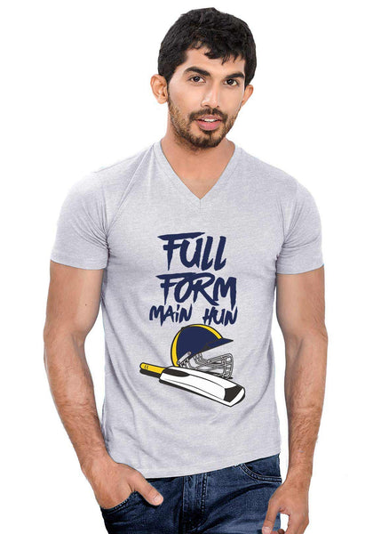 Form Main hun V Neck T-Shirt - Wear Your Opinion - WYO.in  - 1