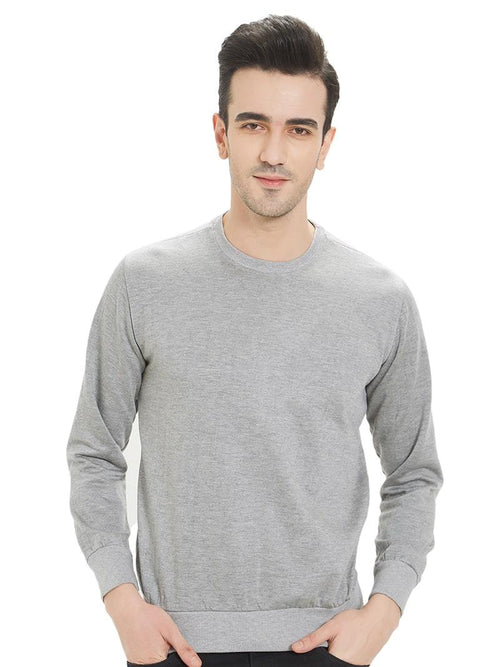 Plain Sweatshirt - Grey