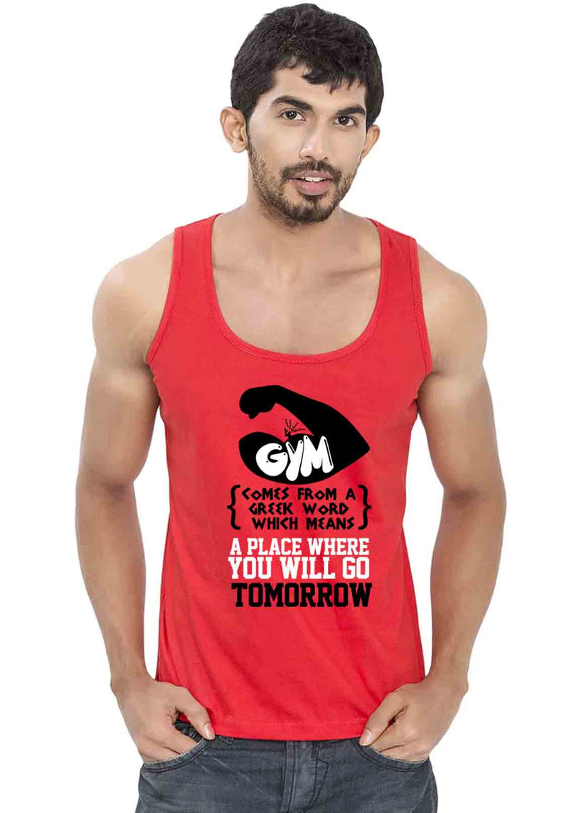 Gym Sleeveless T-shirt