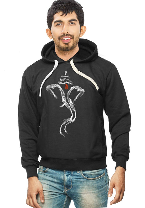 Ganesha Smoke - Hoodies