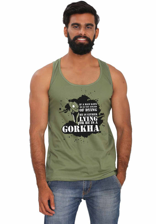 Gorkha Sleeveless T-shirt