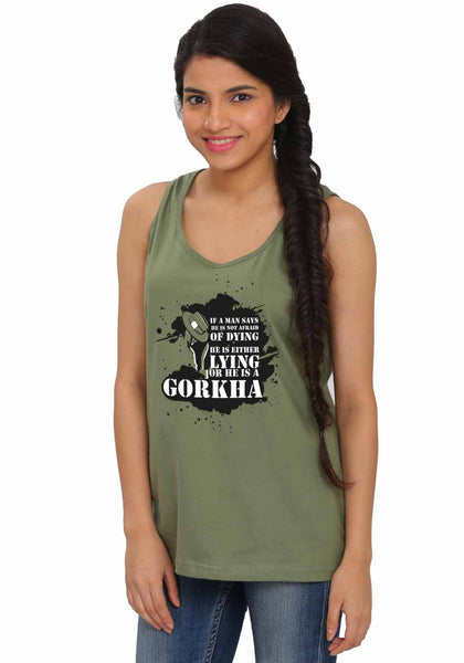 Gorkha Sleeveless Tshirt