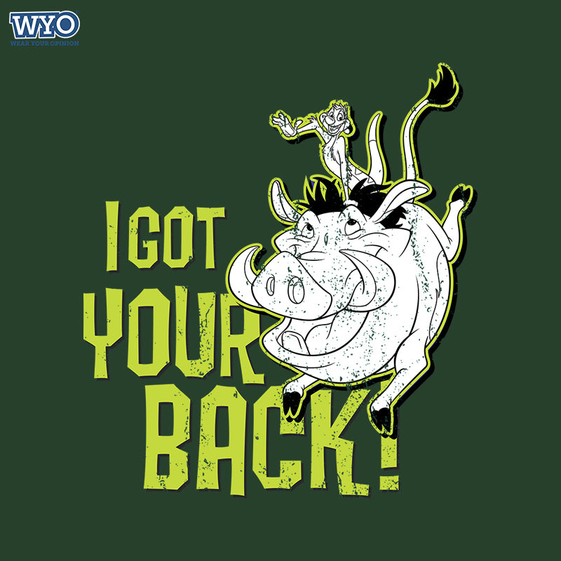 Got Your Back Women Tshirt