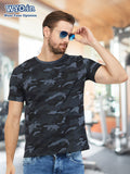 Plain Men's Tshirt - Grey Camo