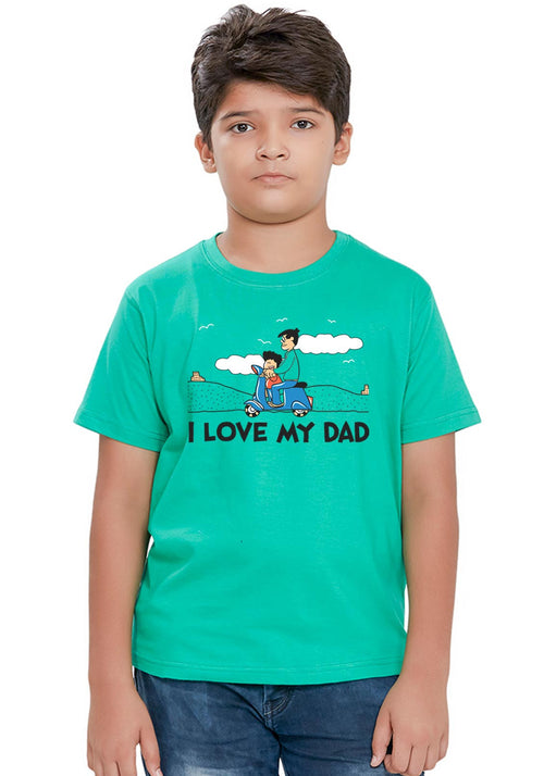 Guddu and Dad Kids T-Shirt