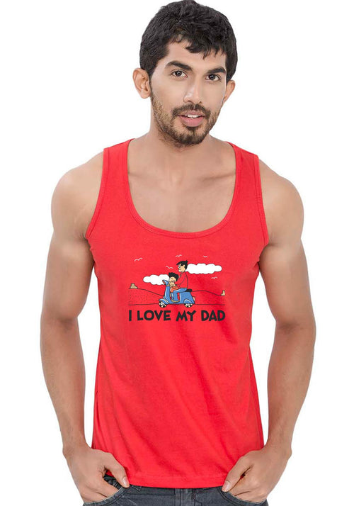 Guddu and Dad Sleeveless T-Shirt