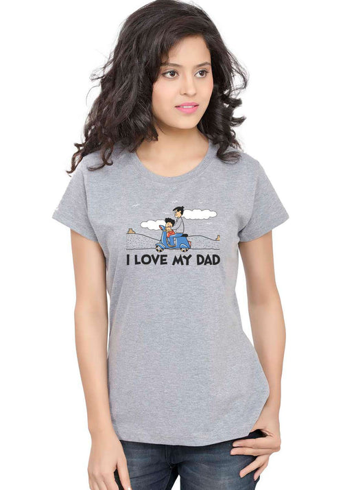 Guddu and Dad Women T-Shirt