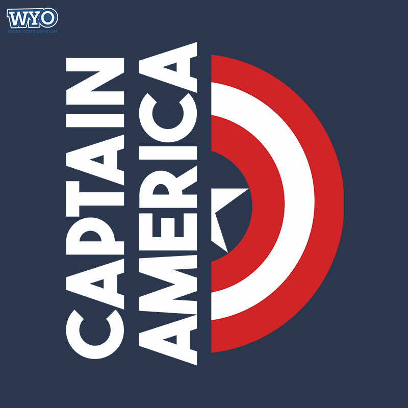 Captain America Shield T Shirt Wear Your Opinion Wyo In