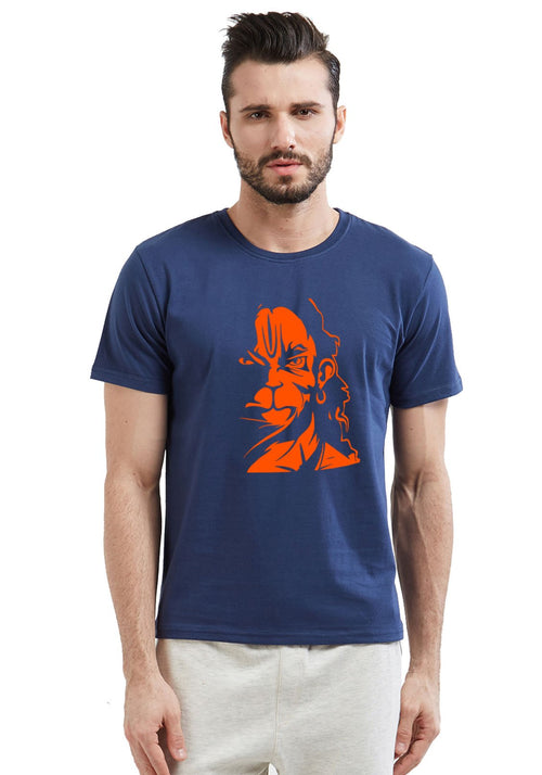Hanuman Rage Spiritual T-Shirt For Men