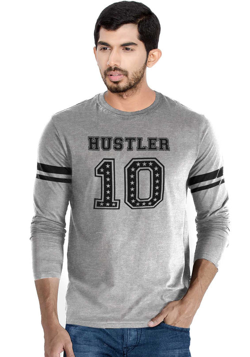 Hustler 10 Full Stripe T-Shirt