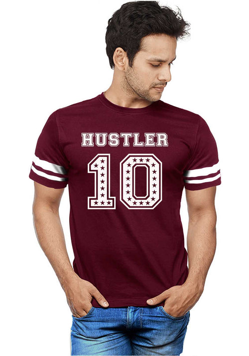 Hustler 10 Stripe T-Shirt