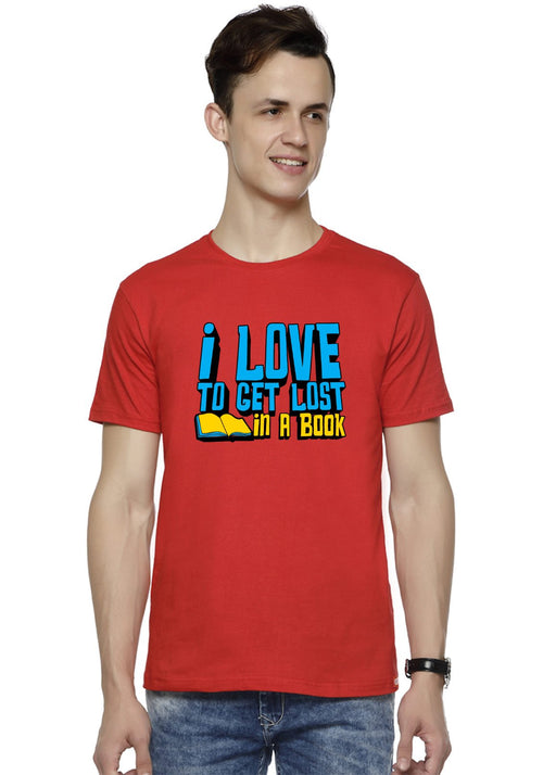 I Love Book T-Shirt
