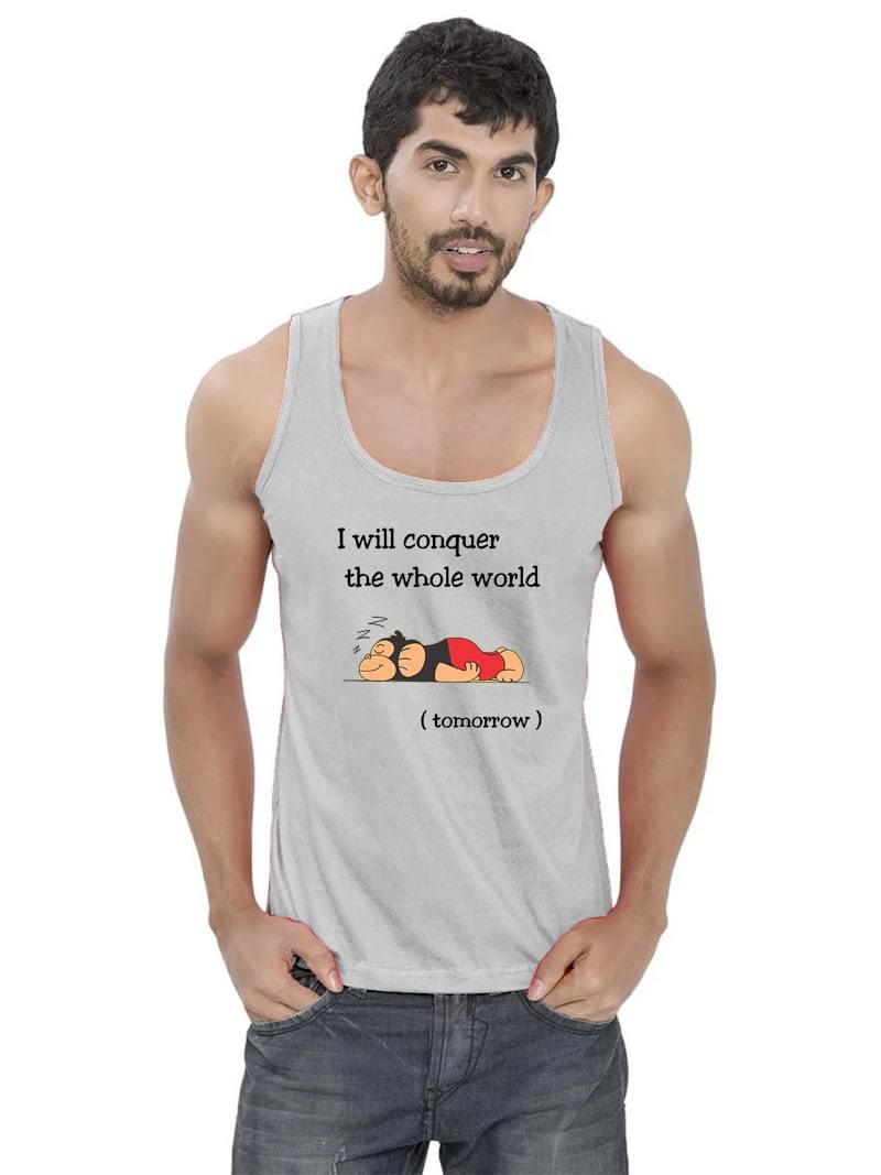I Will Conquer Sleeveless T-Shirt
