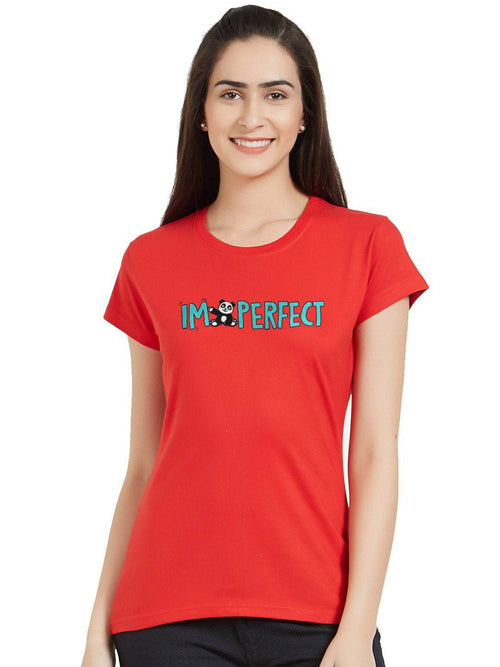 I Am Perfect Women T-Shirt