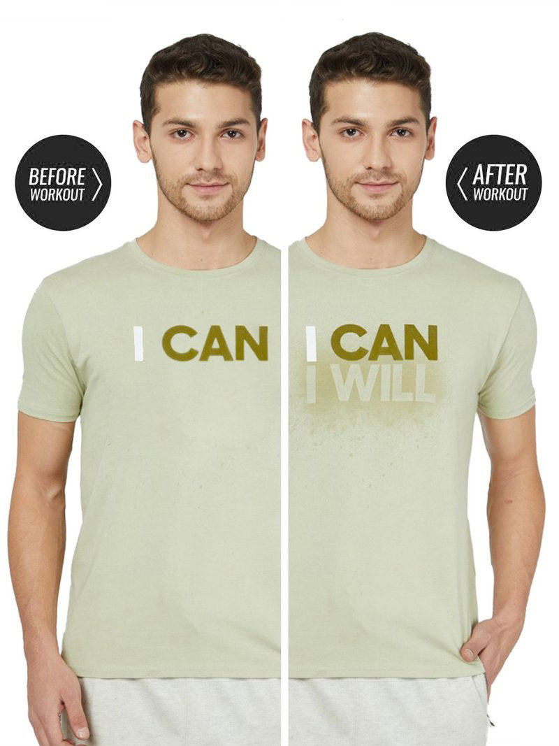 I Can - Sweat Activated Gym T-Shirt
