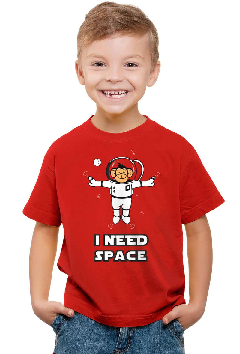 I Need Space Kid'S T-Shirt - Wear Your Opinion - WYO.in  - 1