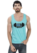 Installing Muscles Sleeveless T-shirt