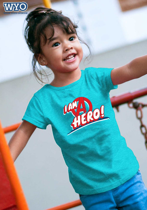 I Am Hero Avenger Kids T-Shirt