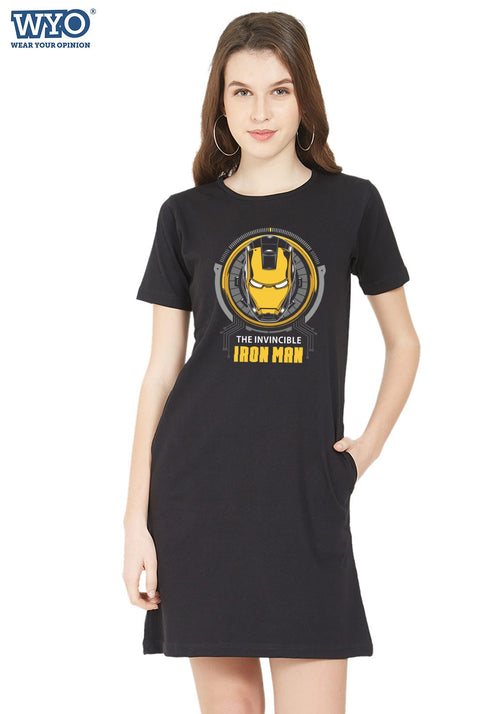Invincible Iron Man Tshirt Dress