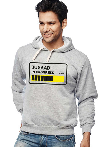 Jugad In Progress - Hoodies