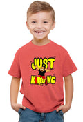 Just Kidding Kid'S T-Shirt - Wear Your Opinion - WYO.in  - 2