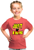 Just Kidding Kid'S Tshirt - Wear Your Opinion - WYO.in  - 2