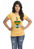 Shot Mein Namak Hai Women TShirt - Wear Your Opinion - WYO.in  - 2