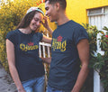 King And Queen Couple Tees